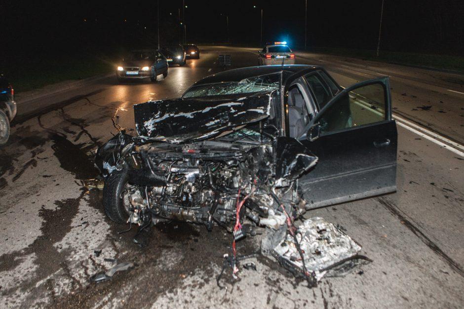 "BMW ir ""Audi"" avarija Kaune"