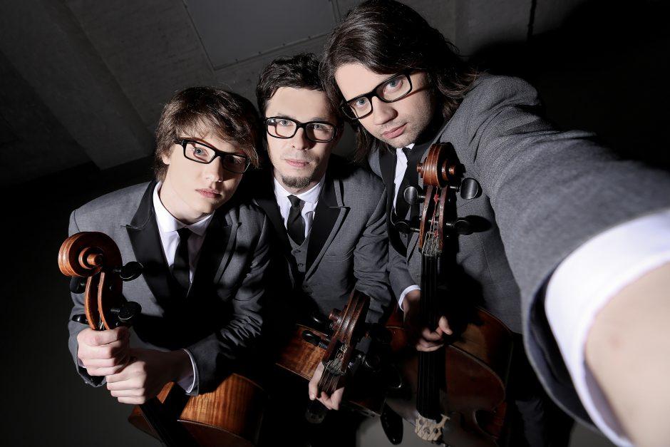 """Violončelininkų trio """"Melo –M"""" grįžta į Kretingalę"""