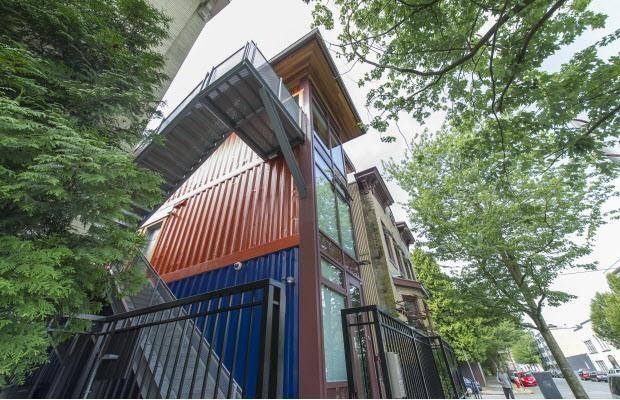 Kanadoje būstas vargšams - konteineriuose