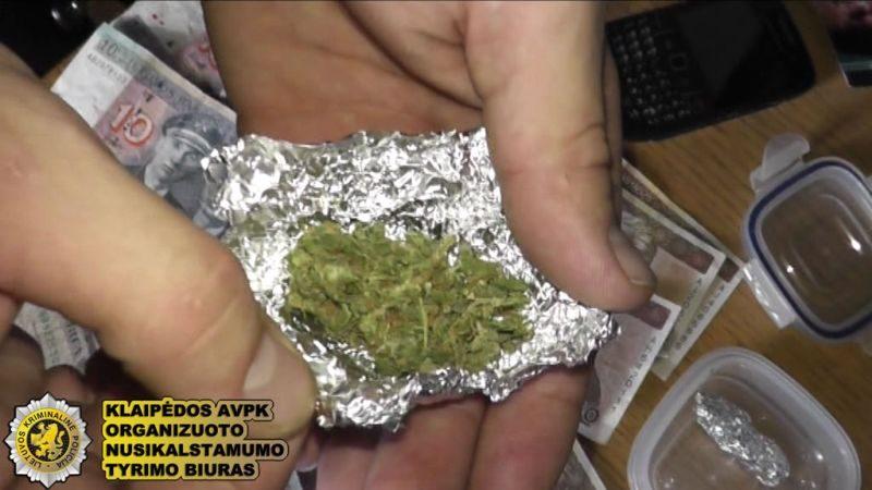 Populiariausias narkotikas uostamiestyje – kanapės