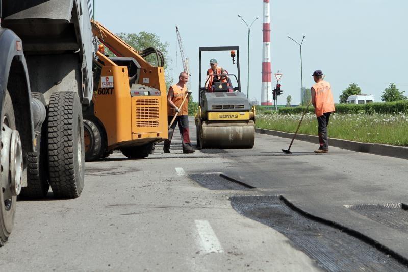 Gatvės asfaltavimo konkurse – dalyvių antplūdis