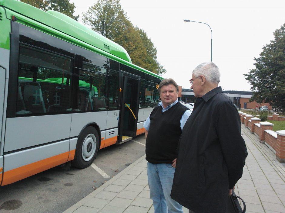 Judrioji savaitė Klaipėdoje: ekologinėje dvikovoje triumfavo autobusas