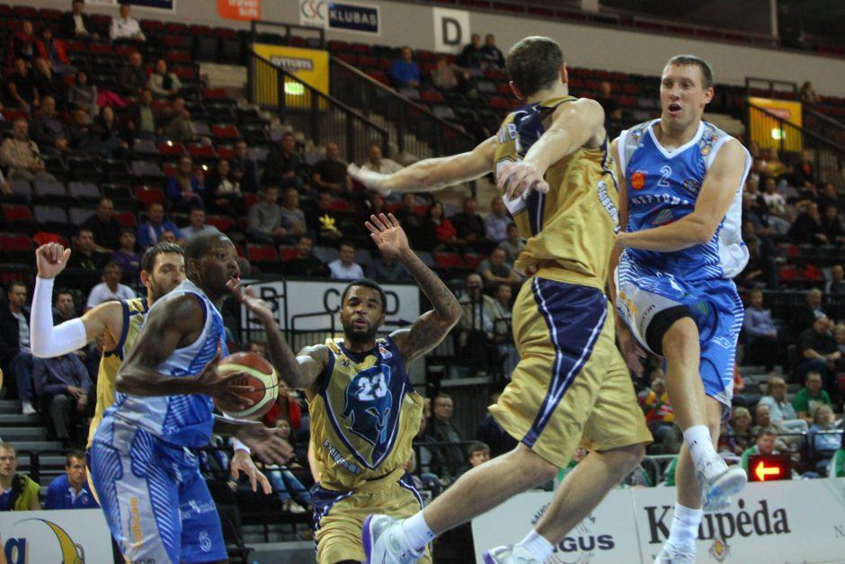 Klaipėdos arenoje krepšininkai ir vėl kovos dėl V.Garasto taurės