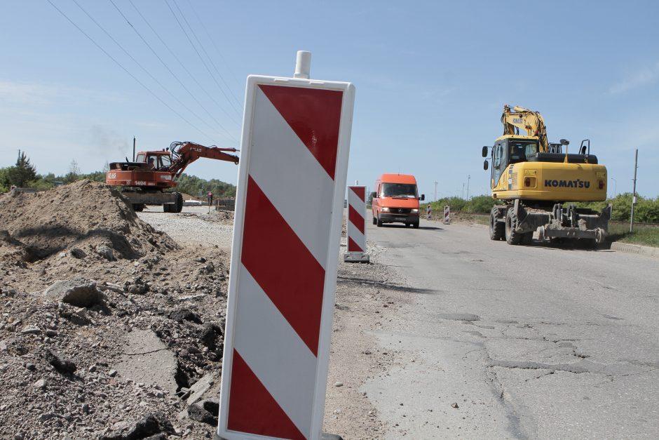 Klaipėdos Pajūrio gatvėje atsiras dvi naujos žiedinės sankryžos