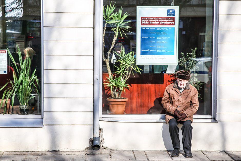 Senjorai išsigando santaupų