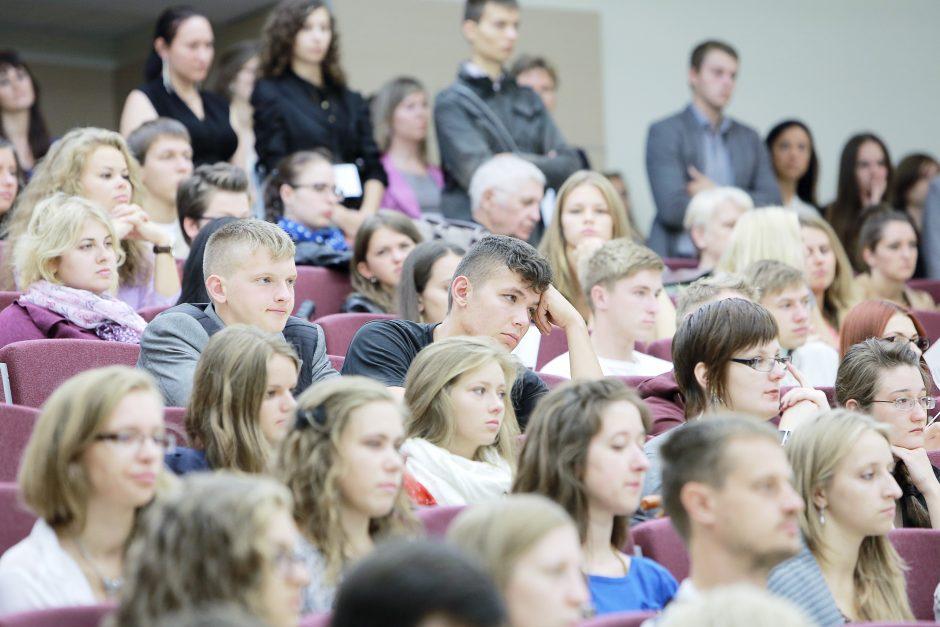 Klaipėdos moksleiviams – galimybė trumpam tapti studentais