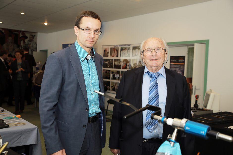 Konferencijoje Klaipėdoje – artroskopijos legenda
