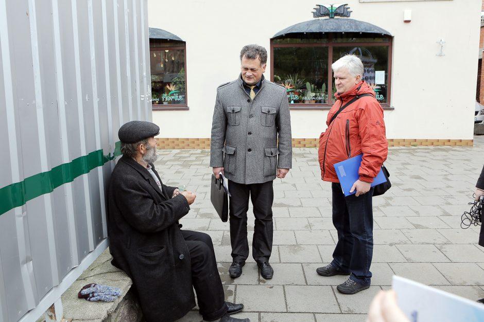 Reidas Klaipėdoje: benamiai bėgo nuo tikrintojų