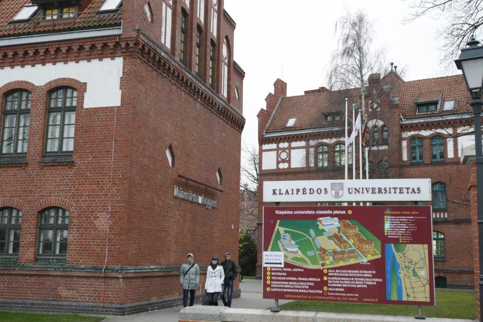 Klaipėdos universitete – fakultetų jungtuvės