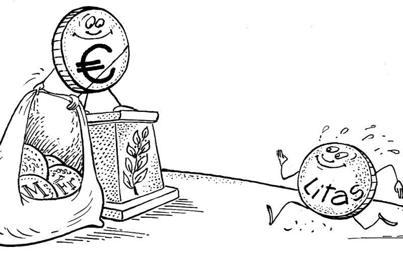 Euro įvedimas pražudys?
