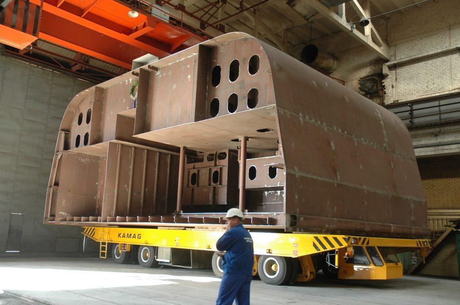 Laivų statytojai krizę bando įveikti išskirtiniais projektais