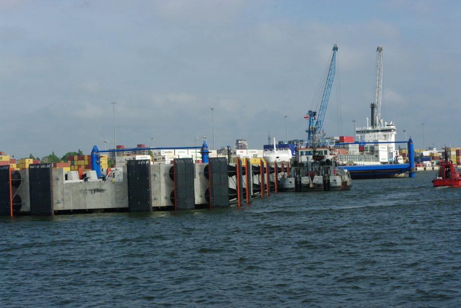 ES pinigai plūstelėjo į Klaipėdos uostą