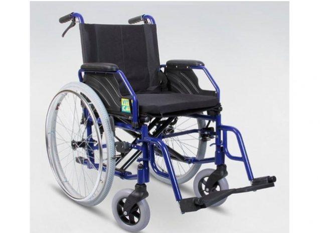 Iš laiptinės pavogė neįgaliojo vežimėlį