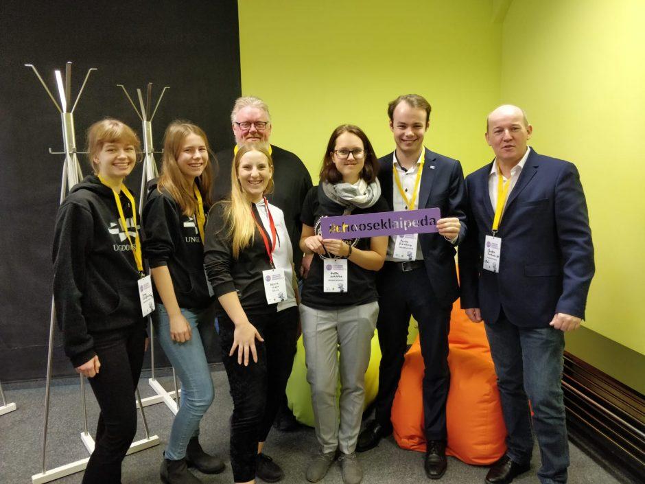 Jaunimo forumas subūrė Baltijos regiono jaunimo politikos formuotojus