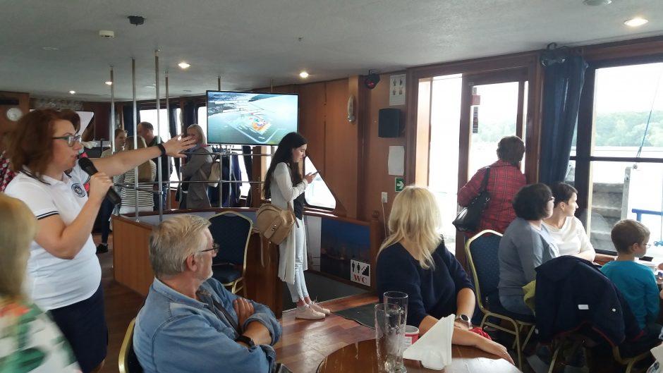 Uostas kviečia į pažintinius edukacinius užsiėmimus ant vandens