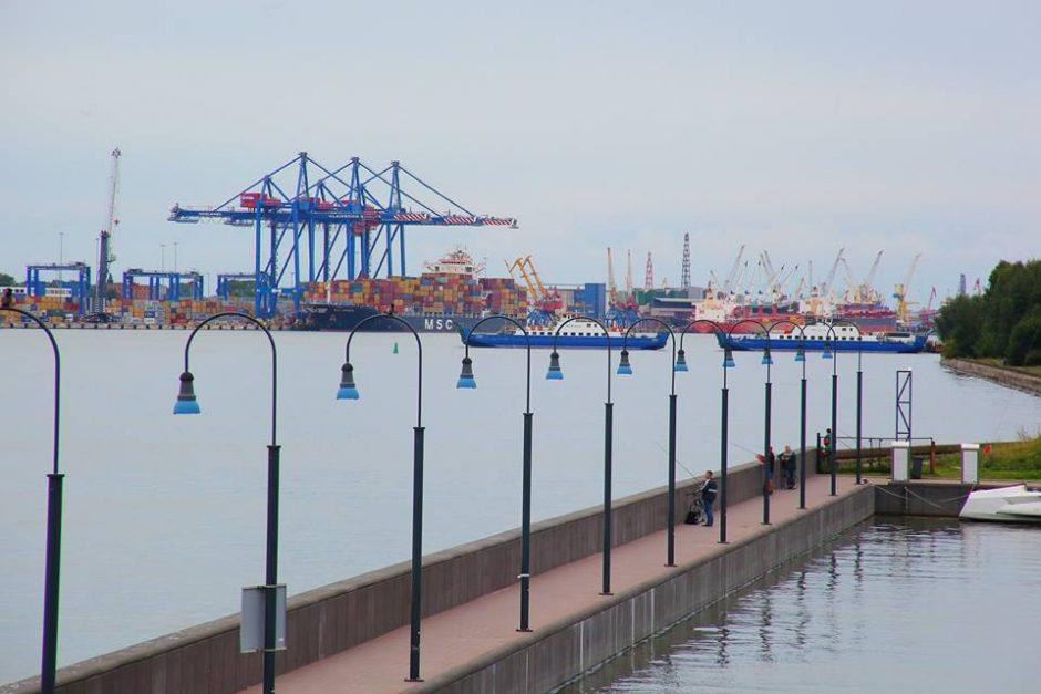 Įvertino jūrų uosto saugumą