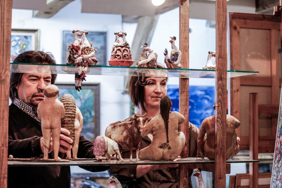 """Baroti galerijos 25-mečio """"Paradas"""""""