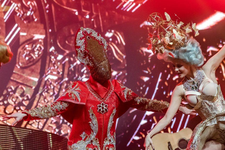 N. Baskovas surengė šou Klaipėdoje