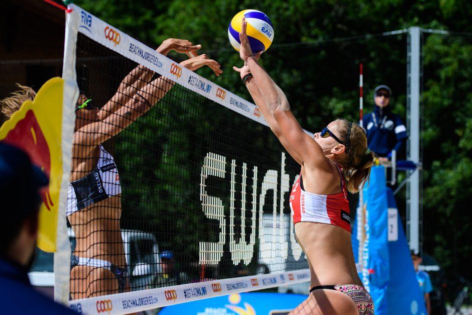 Paplūdimio tinklinio turnyre – apmaudžios lietuvių nesėkmės