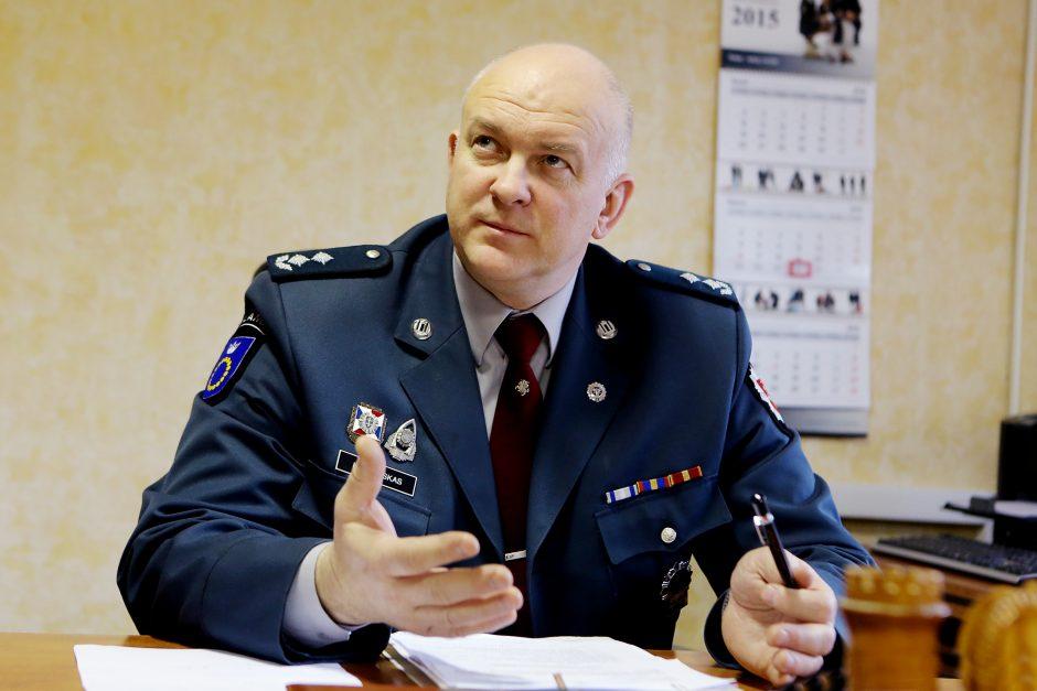 Buvęs Palangos policijos vadovas pralaimėjo bylą dėl atleidimo iš darbo
