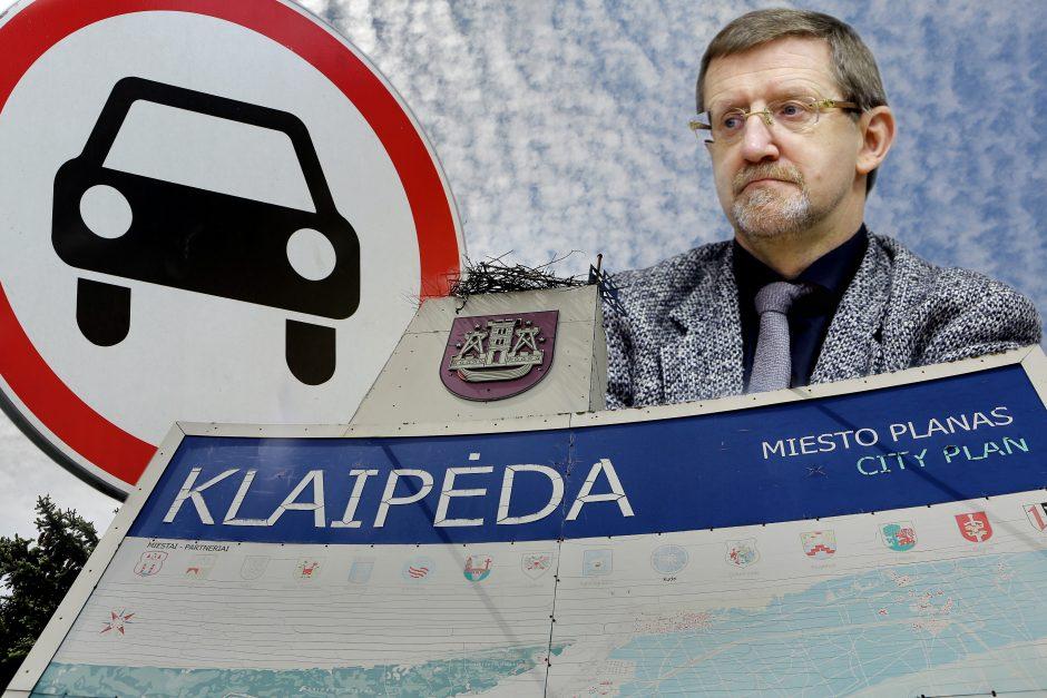 Klaipėdos ateitis – be automobilių