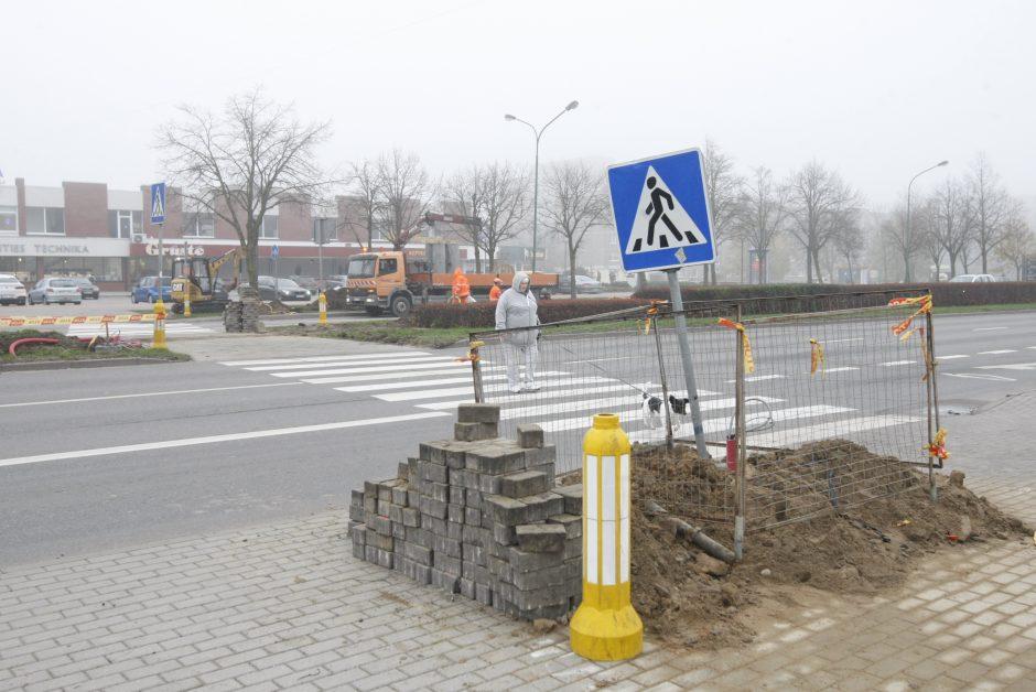 Klaipėdos gatvėse – išmanūs šviesoforai
