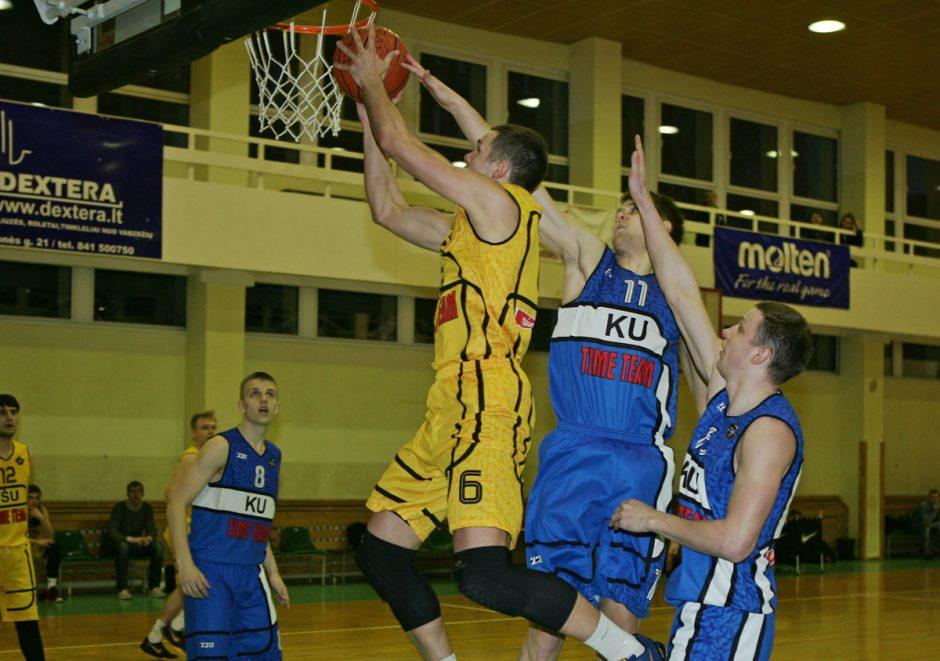 Klaipėdos universiteto komanda – tarp geriausiųjų