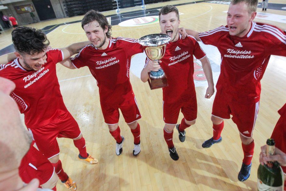 Į salės futbolo čempionatą grįžta Klaipėdos komanda