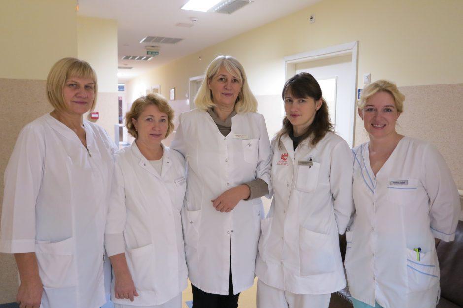 Į Slaugos ligoninę – semtis sveikatos ir paguodos