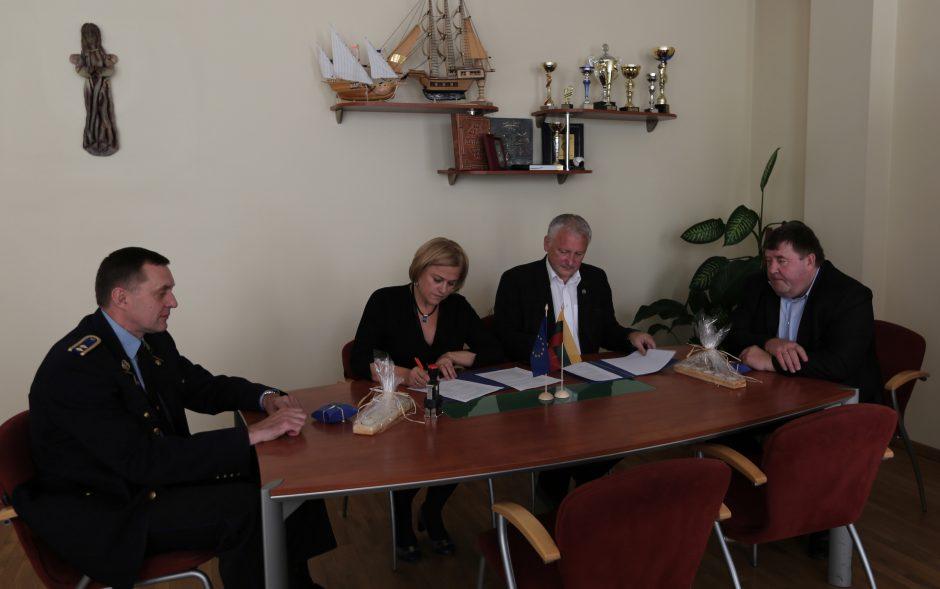 Sporto universitetas bendradarbiaus su Kauno tardymo izoliatoriumi