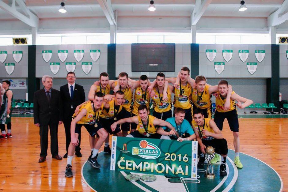 """MKL """"Perlo"""" krepšinio čempionate – """"marčiulioniukų"""" triumfas"""