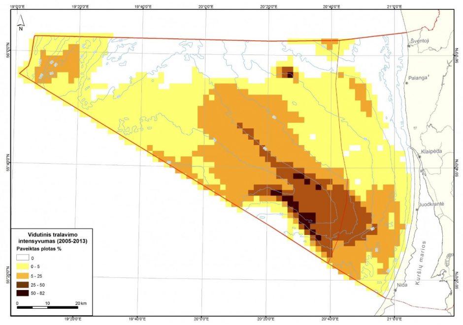 Vėl tirs tralavimo poveikį jūros dugnui