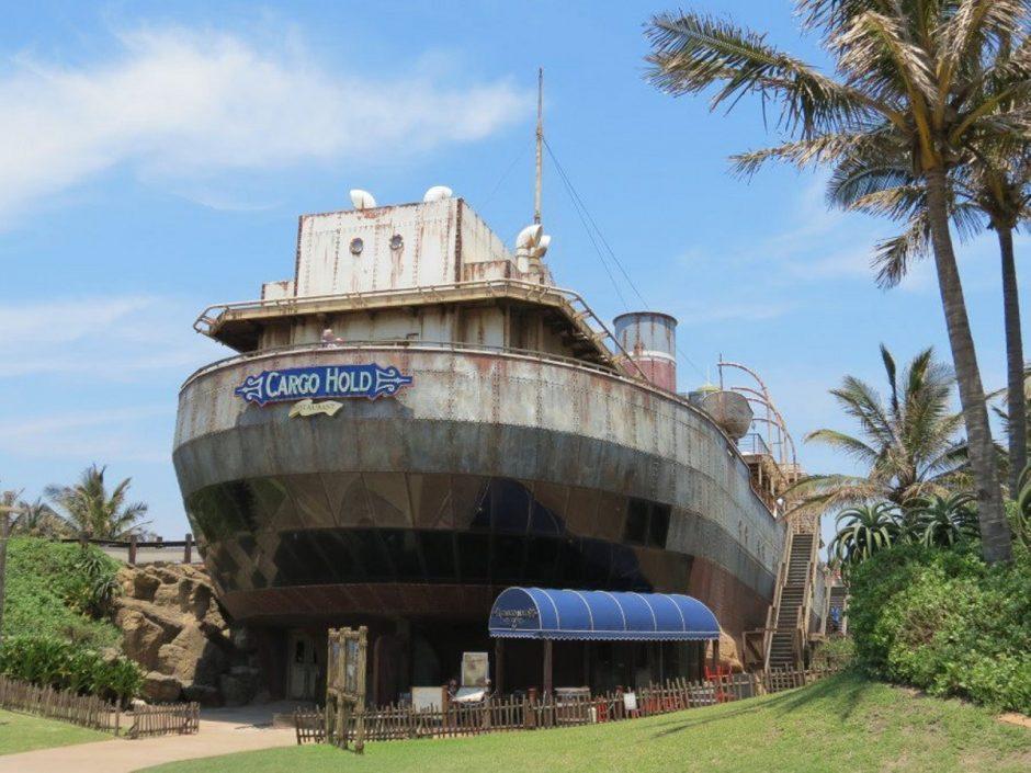 Piratų žemyne originalus jūrų muziejus