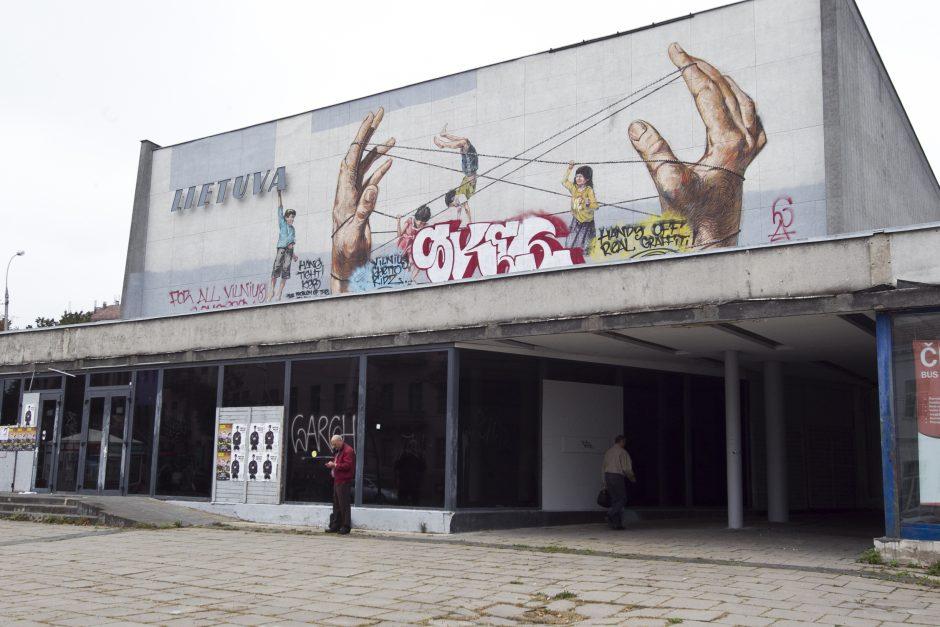 Lietuviai į gatvės meną reaguoja šalčiau nei užsieniečiai