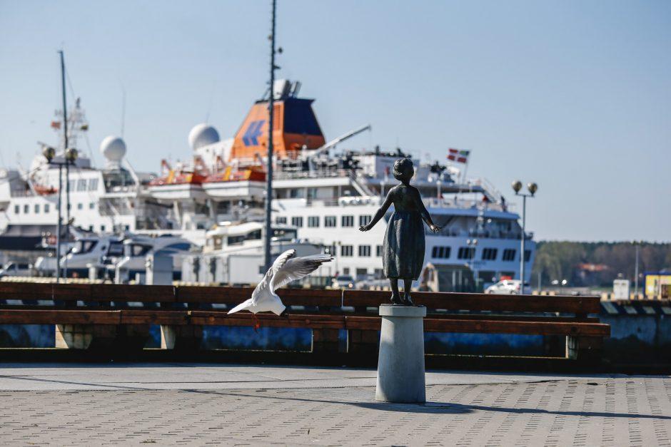 Klaipėdą aplankė išskirtinis kruizinis laivas