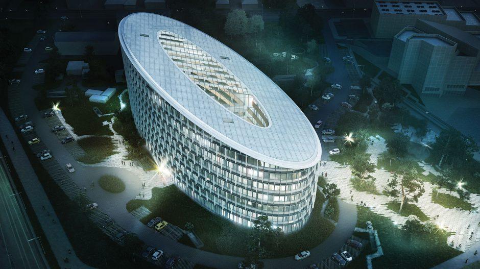 Vilniuje kitąmet iškils naujas verslo biurų pastatas