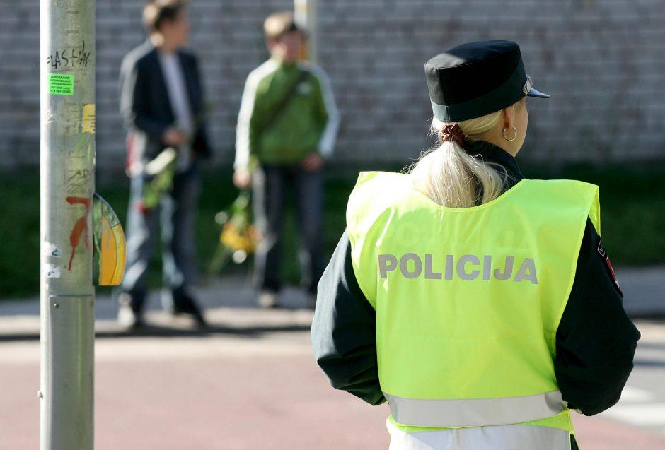 Vilniaus policija stebės, ar pėstieji tamsoje vaikšto su atšvaitais