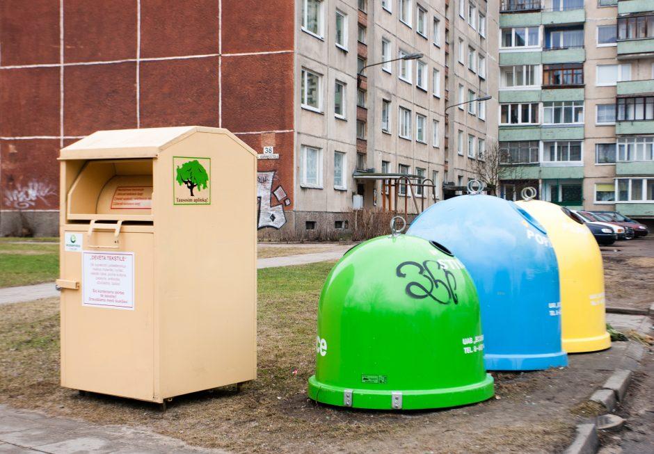 Vilniečiai per keturis mėnesius išrūšiavo 5 kartus daugiau antrinių atliekų
