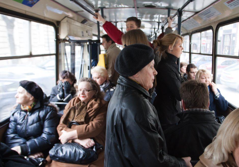 Vilnietės nuomonė: Vilniaus viešojo transporto srautus reikėtų perskirstyti