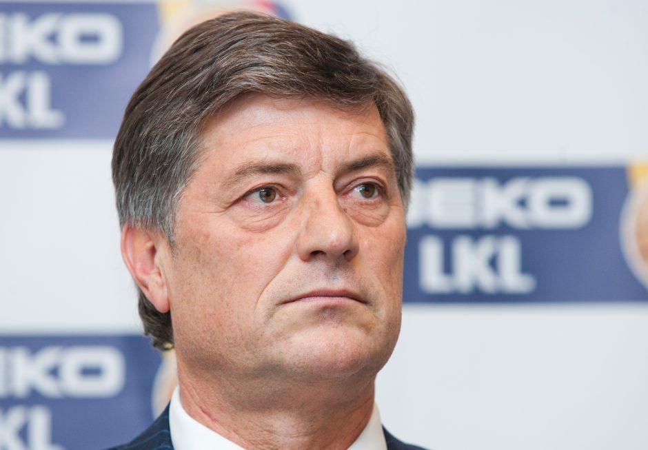 VAE tarybos pirmininkas Š. Kliokys: pirmas darbas bus suformuoti vadovų komandą