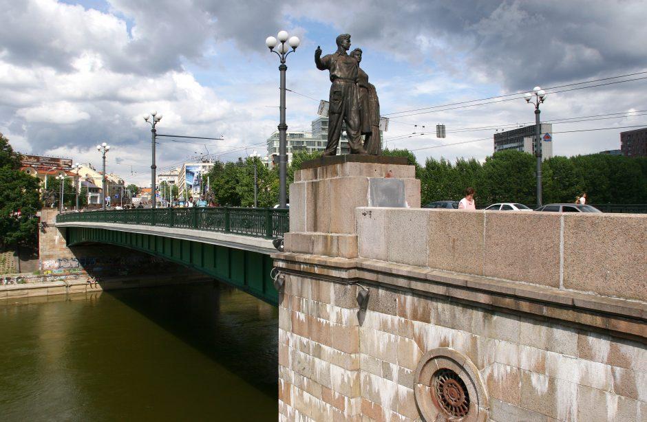Laisvės dieną ant Žaliojo tilto bus atidengta atminimo lenta