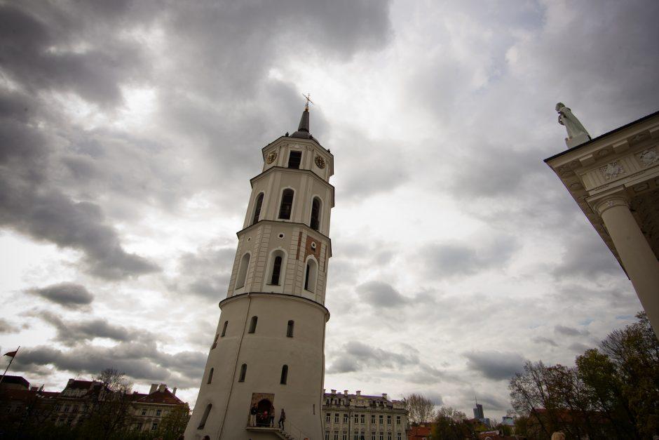 Sekmadienis Vilniuje bus sausas, bet apniukęs