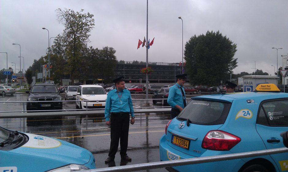 Vilniaus oro uoste klientų laukia nauja taksi paslaugų tvarka