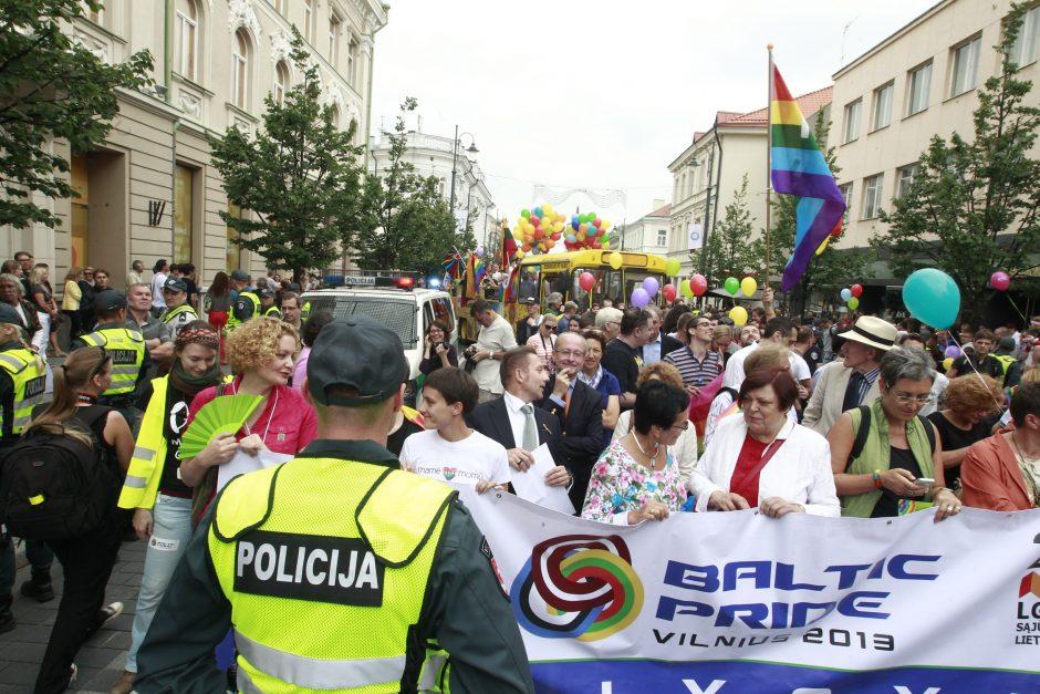 Vilniaus policija gėjų eitynių apsaugai išleido per 180 tūkst. litų