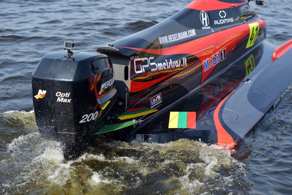 Europos F2 vandens formulių čempionatą Kupiškyje koreguoja ...