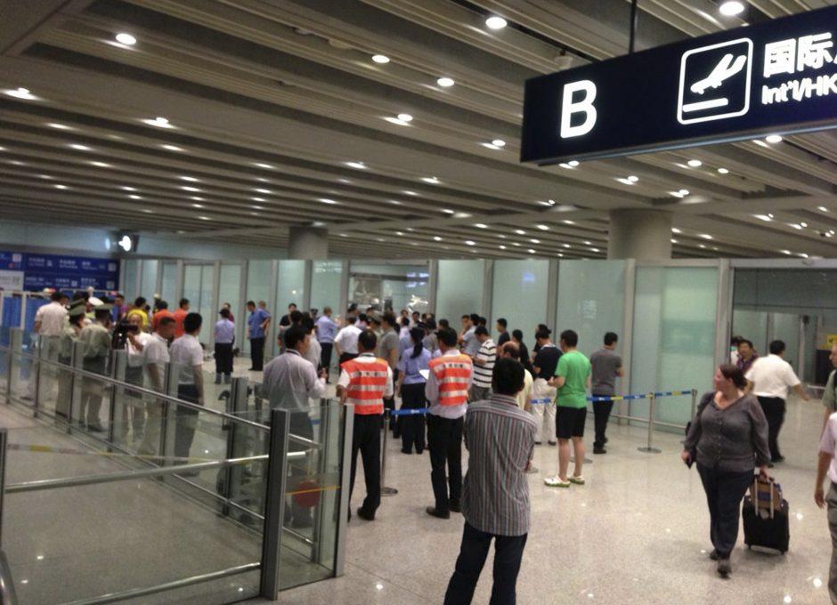 Pekino oro uoste bombą detonavo neįgaliojo vežimėlyje sėdėjęs vyras
