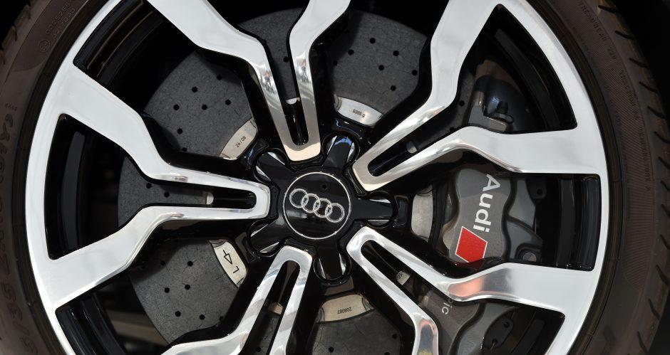 """Nidoje šuo apgadino prabangų """"Audi"""": nuostoliai siekia 5 tūkst. eurų"""