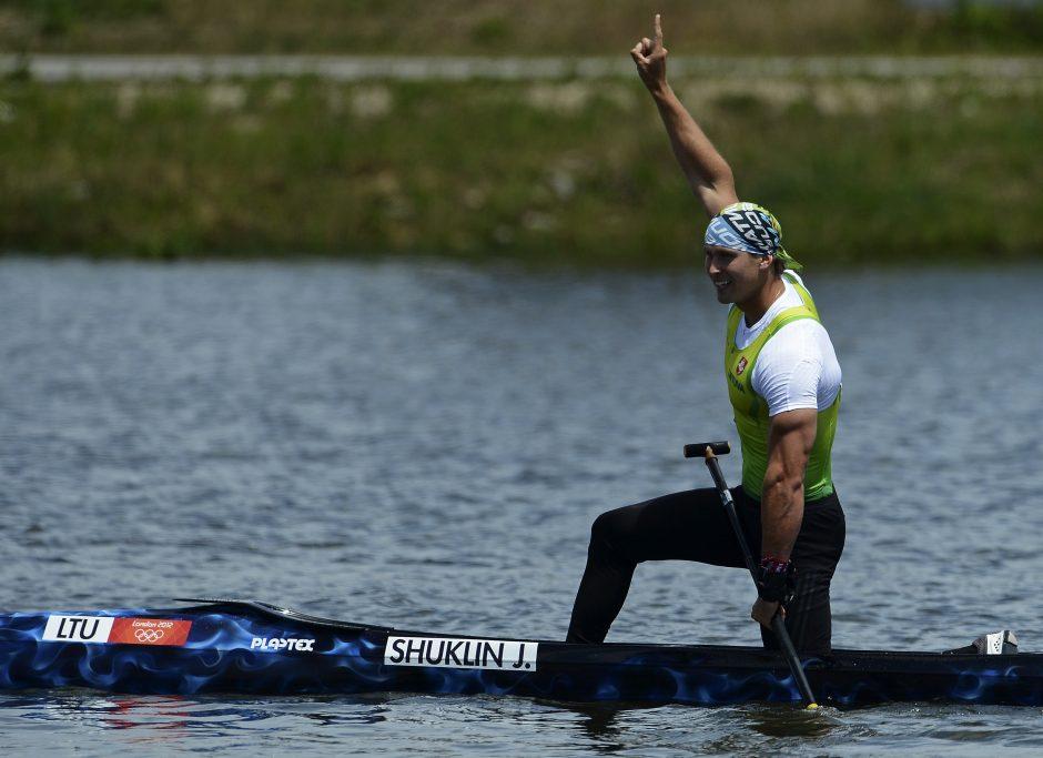 J. Šuklinas per vieną dieną iškovojo antrąjį aukso medalį