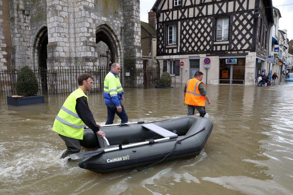 Mokslininkai: dėl šylančio klimato kinta potvynių Europoje kalendorius
