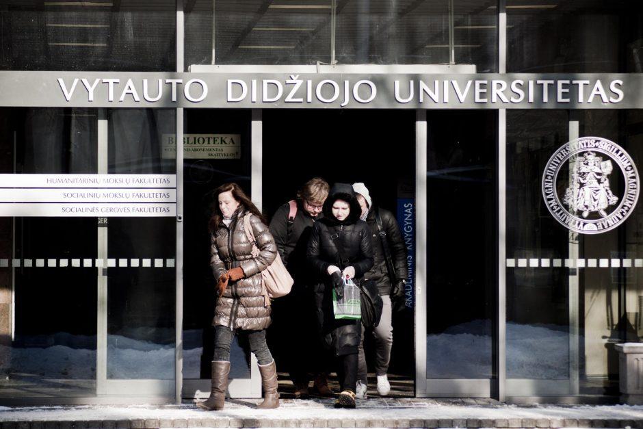 VDU rektorius: universitetų sujungimas kainuos apie 40 mln. eurų